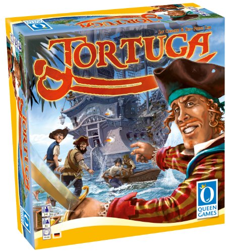 Queen Games 10040 - Tortuga, Brettspiel (Barbossa Captain)