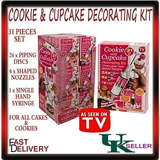 Asot PMS 31Pc Cookie/Kuchen dekorieren Set in PVC CTD Box/Bodenmatte mti 36D