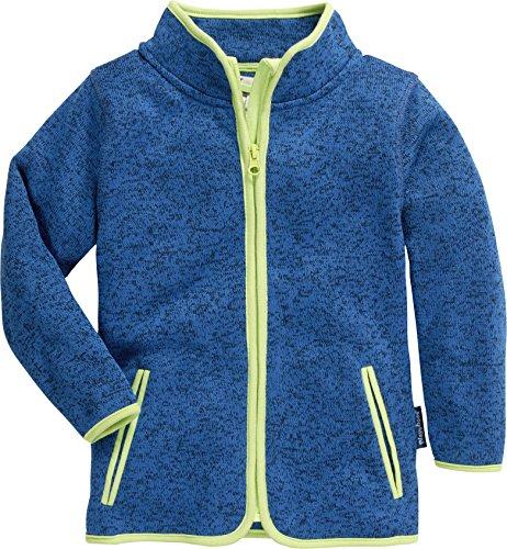 Playshoes Kinder-Jacke aus Fleece, atmungsaktives und hochwertiges Jäckchen mit Reißverschluss, blau, 12-18 Months (Manufacturer Size:86) (12-reißverschluss-blau)