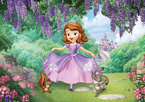 Olimpia Design Fototapete Disney Sofia Die Erste , 1 Stück, , - Tapete, Mädchen, Disney Kinder,