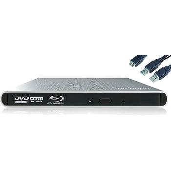 Archgon Style MD-8107S-U3+BU40N(S) lecteurs et graveurs Blu-ray externes, lecteur 4K UHD (Hitachi LG BU40N), USB 3.0, argent
