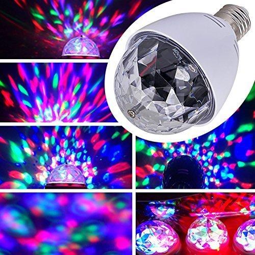 effekt Licht Lasereffekt Projektor Kristall Magic Ball Effect Licht Drehen Automatisch für Weihnachtsparty Disco Party Klub Club ()