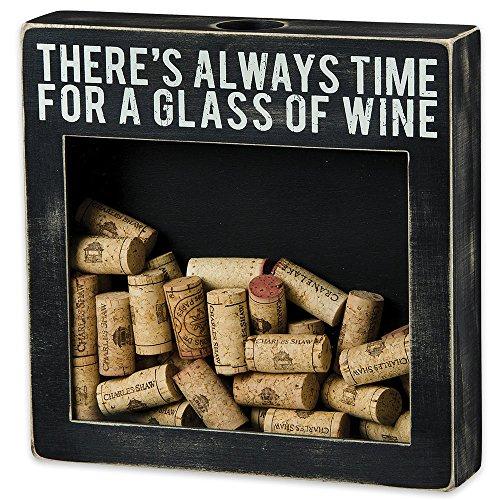 Wein Schatten Box Cork Halter–10in. L x 21/2IN. W x 10in. H