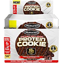 Muscletech Protein Cookie Triple Chocolate - 6 Barras