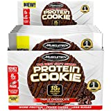 Muscletech Protein Cookie Triple Chocolate, 552 g