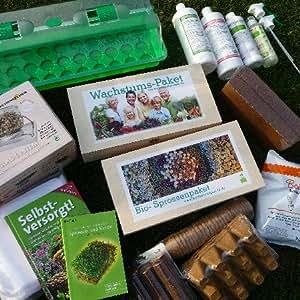 Großes Bio-Saatgut Selbstversorger-Paket