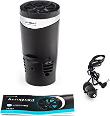 Eureka Forbes Aeroguard Fresh Car Air Purifier(Black)