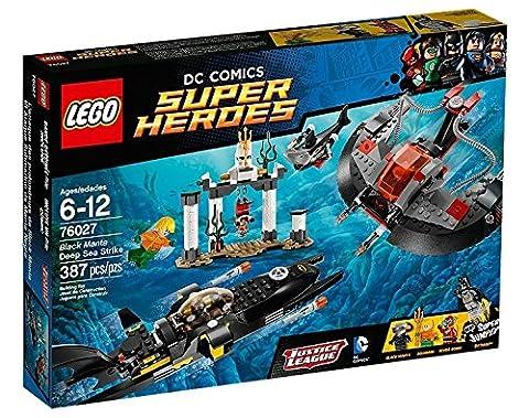 LEGO Super Heroes - Dc Universe - 76027 - Jeu De Construction - L'attaque Des Profondeurs De Black
