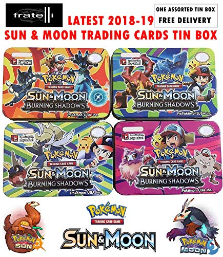 FRATELLI - Pocket Monsters Limited Edition Trading Cards (Sun and Moon Trading Cards Tin Box (Multicolour))