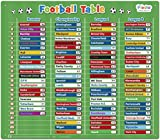 Football Table Magnetic Activity Chart - Extra Large 43 x 38 cm