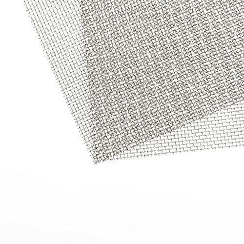 Wire Mesh Woven Meshes Edelstahl Fliegengitter Nagetier Mesh mit 1 mm Mesh, 300 x 210 mm, 2 Stück