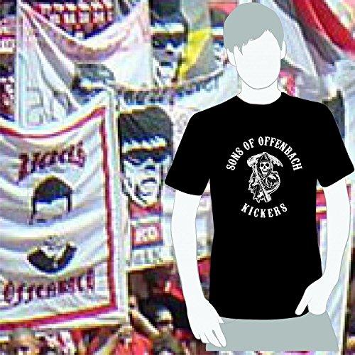 World of Football T-Shirt Sons of Offenbach Kickers schwarz - L