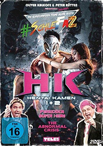 #SchleFaZ: Hentai Kamen 1 & 2 [2 DVDs]