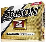 Srixon Z-Star - Balles de Golf, Blanc, Lot DE 12