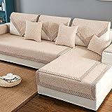 Foxi & bettwäsche aus baumwolle sofa möbel protector für hund oder haustier,Sofa decken alle saison sektionaltore slipcovers l form strapazierfähig volltonfarbe slip cover u-form-B 43x63inch(110x160cm)