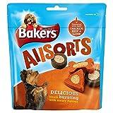 Bakers Allsorts aromatizado con Sabroso pollo, la carne de vaca y cordero 98g (paquete de 6 x 98g)