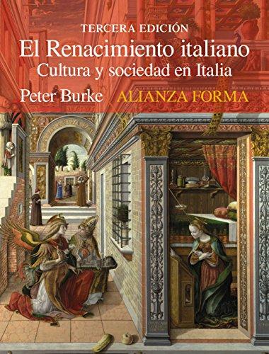 El Renacimiento italiano (Alianza Forma (Af)) por Peter Burke