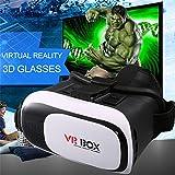 leshp VR 2.0Realtà Virtuale 3d Video Occhiali Occhiali 3d del gioco per smartphone iPhone 66S, Samsung S7S6Edge