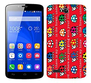 WOW Printed Designer Mobile Case Back Cover For Huawei Honor Holly