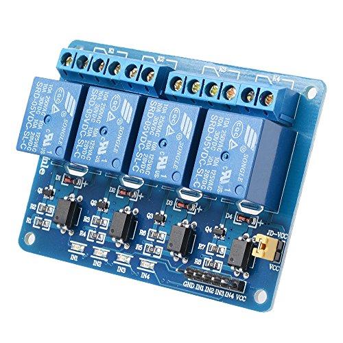 Steuerschalter Relais Modul Board Relais Treiber Board für Arduino Raspberry Pi 51 AVR ARM PIC (Relais-treiber)