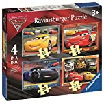 Ravensburger 6894 Disney Pixar Cars 3 4 in a box Jigsaw Puzzles - 12, 16, 20 and 24 Pieces