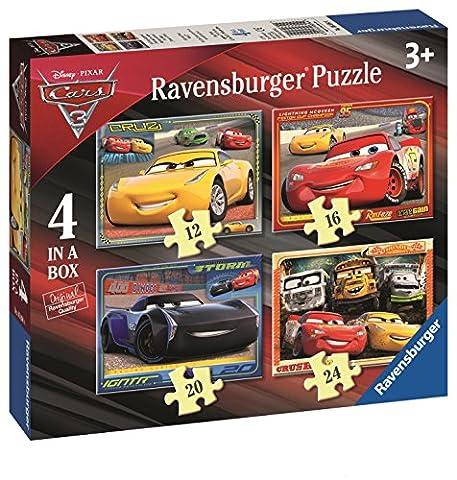 Ravensburger 6894Disney Pixar Cars 34in einer Box Puzzle–12, 16, 20und 24Teile