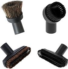 Non-brand 4X Replacement Attachment Bristle Brush Vacuum Nozzle Heads- Short 32mm Dia