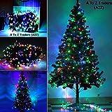 #4: 6Feet Xmas Christmas Tree + 30Meter Multi colour LED String Light for Home Christmas XMAS Decoration (6 Feet)