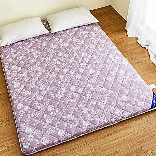 Unbekannt WL Japanischen Boden Matte,traditionelle Tatami Matratze,faltbar Dicken Futon-Matte Anti-rutsch Schlafzettel Für Zuhause Wohnheim-rosa 180x200cm(71x79inch)