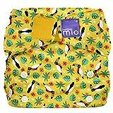 Bambino Mio, Miosolo All-in-One Reusable Nappy, Tropical Toucan