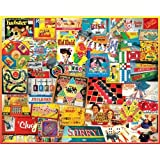 """Jigsaw Puzzle 1000 Pieces 24""""X30""""-Games We Played"""