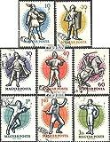 Ungarn 1601A-1608A (kompl.Ausg.) 1959 26. Weltmeisterschaft im Fechten in (Briefmarken für Sammler)