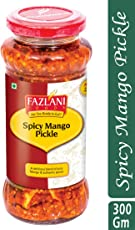 Ready to Eat Spicy Mango Pickle by Fazlani Foods, 300 GMS