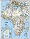 Africa Classic, tubed Wall Maps Continents: NG.PC622110 (Reference - Continents)