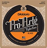 D'Addario EJ43 - Juego de cuerdas para guitarra clásica de nylon (tensión baja)