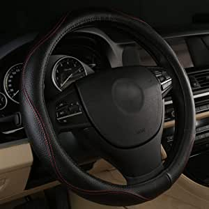 Lenkradabdeckung Aus Echtem Leder Für S Klasse S600 S600l W220 W221 W222 Smart Fortwo Forfour Auto
