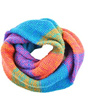 Bufandas Cuello Mujer - Tuopuda® Invierno Cálido Infinity cuello de la capucha del mantón de la bufanda larga...