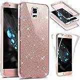 EUWLY Funda Samsung Galaxy S5, Carcasa Caso Samsung Galaxy S5, Ultra Delgado 360 Grados Protección Completa Case Cover Móvil Accesorio Funda Antigolpe