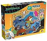 Lisciani Giochi 53988 - Puzzle Df Plus Zootropolis, 108 Pezzi, Multicolore