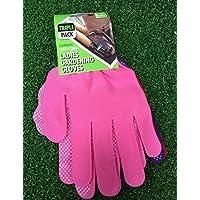 Donna confezione da 3giardino guanti da giardinaggio, ~ rosa viola e rosso