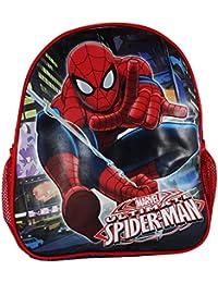 Preisvergleich für Marvel Spiderman Ultimate Rucksack Kinderrucksack Freizeit Schultertaschen Lunchbox