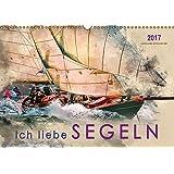 Ich liebe Segeln (Wandkalender 2017 DIN A3 quer): Sonne, Wind und Wellen bis zum Horizont. (Monatskalender, 14 Seiten ) (CALVENDO Sport)