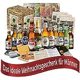 Weihnachtsgeschenk für Papa Biere Deutschlands (12x0,33l) Weihnachtsgeschenk Mann Freund Ehemann, Geschenkidee für Weihnachten Weihnachtsgeschenkideen