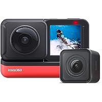 Insta360 ONE R Action Camera 4K HD WiFi Twin Edition Antivibrazioni Impermeabile, con Stabilizzazione FlowState Supporti…