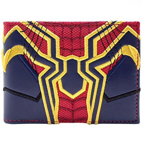 Marvel Avengers Spider-Man Infinity War passen Blau Portemonnaie Geldbörse (Spiderman 2 Xbox Kostüm)