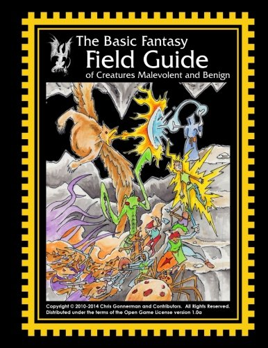 Price comparison product image The Basic Fantasy Field Guide