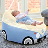 rucomfy Beanbags Gaga+ Baby to Junior Campervan Bean Bag Support Chair, Pre-Filled Luxury Cuddle Soft, Water Resistant…