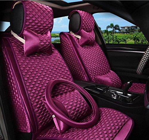 PG Sarkophag Umgeben von Vier Jahreszeiten Universal Auto Sitz Kissenbezug, Purple,Purple