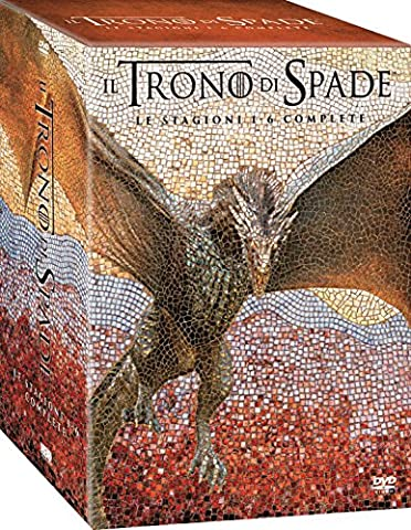Trono di Spade Stagioni 1 - 6 [Game of Thrones 1-6] (Game Of Thrones Dvd 1-6)
