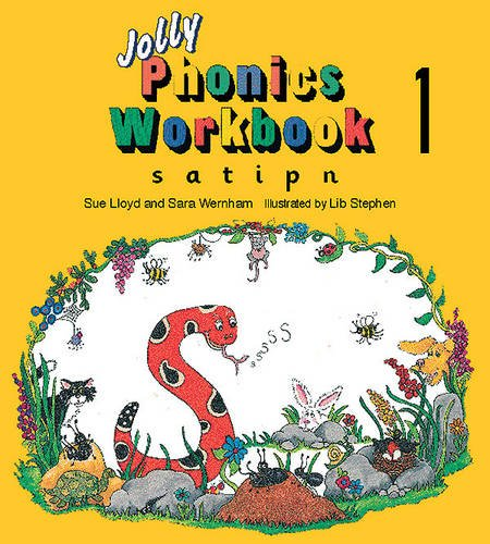 Jolly Phonics Workbook 1: in Precursive Letters (BE): S, A, T, I, P, N